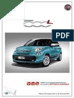 Fisa Fiat 500L Serie 2 - August 2015