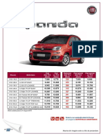 Fisa Fiat N Panda - August 2015