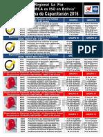 Cronograma 2016 v1 Lapaz