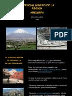 Potencial Minero Arequipa, Peru