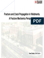 Fracture and Crack Propagation in Weldments