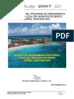 Decreto Poel m. Benito Juarez 2014