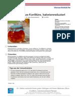 Melonen Zitrus Konfituere Kalorienreduziert