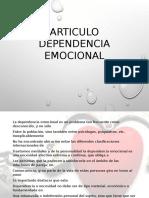 Articulo Dependencia Emocional