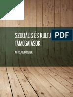 Szociális és kulturális támogatások (2016)