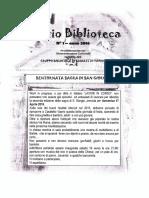 Spazio Biblioteca N. 1 - Anno 2016 - Casaletto Vaprio
