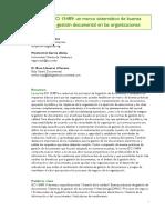 La Norma ISO 15489