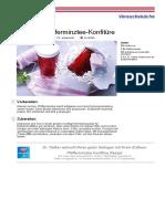 Erdbeer-pfefferminztee-konfituere