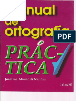 Manual de Ortografia Práctica - Josefina Abuadily Nahúm