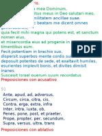 Clase de Latín 20151124