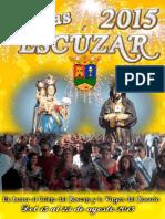 Programa Fiestas de Escuzar 2015