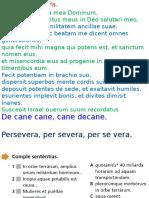 Clase de latín 20151110