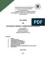 MH0422_Estadistica y Demografia - 2011 I - JPS