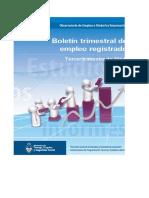 Serie Empleo Trimestral Registrado