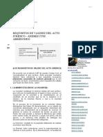 Andrés Eduardo Cusi_ Requisitos de Validez Del Acto Jurídico - Andrés Cusi Arredondo