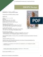 DROPS 77-18 - Chaqueta de Punto DROPS en Muskat y Vivaldi - Free Pattern by DROPS Design