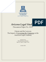 Rose - The Impact of Governing the Commons on the American Legal Academy