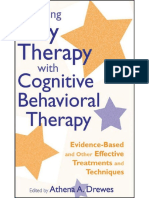 2009 - Blending Play Therapy With Cognitive-Behavioral Therapy - Drewes