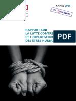 Rapport Traite 2015