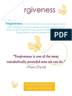 Forgiveness Workshop