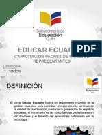 Educarecuador Familia o Representantes