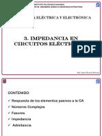 3. Impedancia en Circuitos Eléctricos