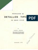 Recopilacion de Detalles Tipicos de Obras Civiles - Harry Osers