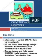 Capacitors Inductors