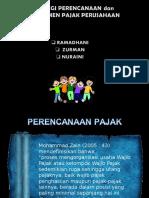 Kelompok 6  Strategi Perencanaan Dan Manajemen Pajak Perusahaan Pptx 79880a4671