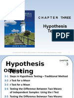 Chapter 3 Hypothesis Testing_Mean One Sample