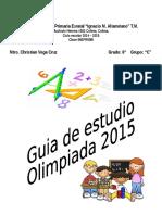 Guia de Estudio Para Olimpiada Del Conocimiento 2015