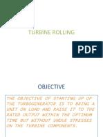 MHI 700MW Turbine Rolling