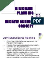 PROFESIONALISME GURU- CURRICULUM PLANNING