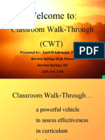 PROFESIONALISME GURU- CLASSROOM WALK THROUGH