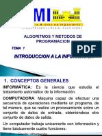 Tema 1 -Introduccion a La Informatica