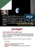 1.1. Introduccion a La Ecologia