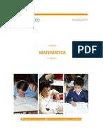 Diagnóstico 3º Básico Matematicas