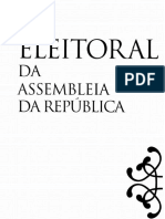 Lei Eleitoral Asembleia Republica Lear Anotada 2015