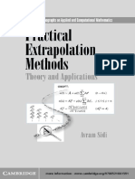 Sidi_Practical Extrapolation Methods 2003