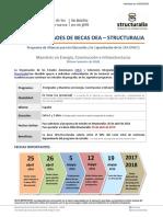 1ra Convocatoria OEA-Structuralia 2016