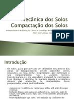 Mecânica Dos Solos - Compactação