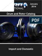 Automotive Brake and Drum Rotor Catalog 2014