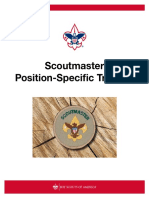 Scoutmaster Position-Specific Training S24