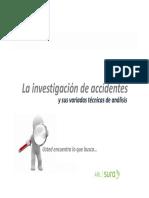 Investigación de Accidentes Junio 2013 Modo de Compatibilidad