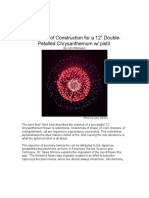 A Method of Construction for 12 Double Petalled Chrysanthemum_1