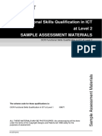Sample Assessment Material