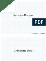 Revisao de Bioestatistica 1 - Coursera