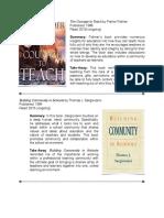 Portfolio Reading Log