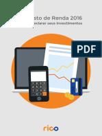 e-book - Imposto de Renda -2016