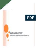 global leadership - pace